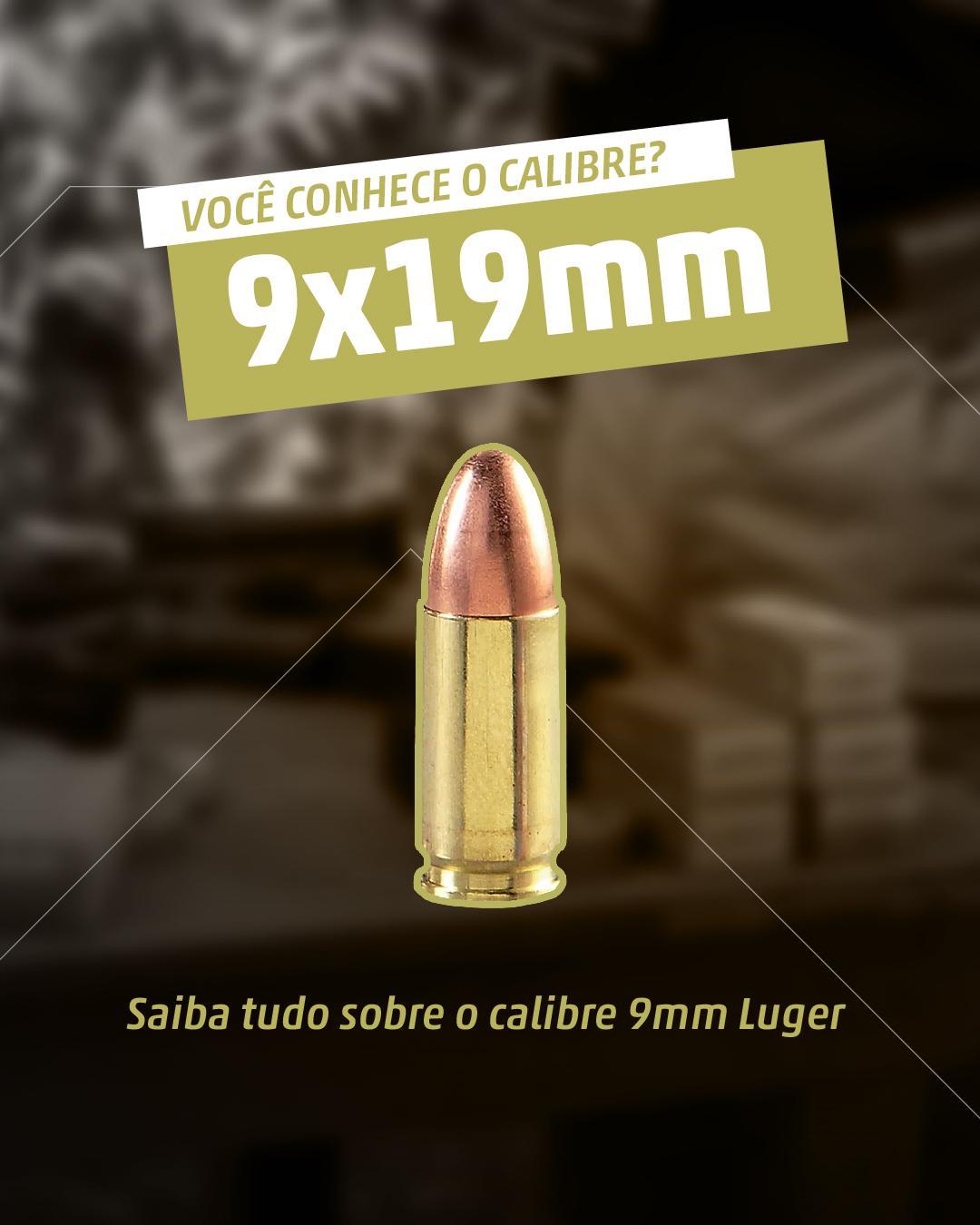 Tudo sobre o calibre 9mm Parabellum