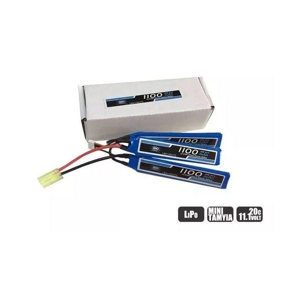 Bateria Lipo 3S 11.1V 1100mah 20C - Leão
