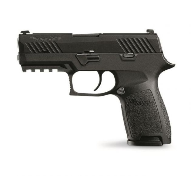 "Pistola Sig Sauer P320 3.9"" Contrast Sight 15-Sh Black Polymer Calibre .9mm"