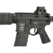 Rifle Airsoft M4 BOLT B4A1 ELITE SD - Black Full Metal - Blowback & Recoil System