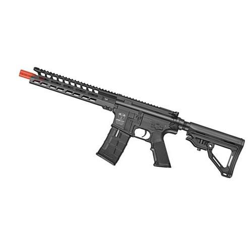 Rifle De Airsoft Ics 441 Cxp-Peleador C-Black Semi Metal - Aeg