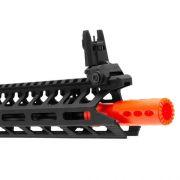 Rifle De Airsoft Ics 441 Cxp-Peleador C-Black Semi Metal - Aeg